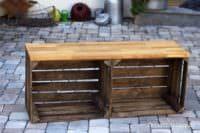 DIY: Handgemachte Sitzbank