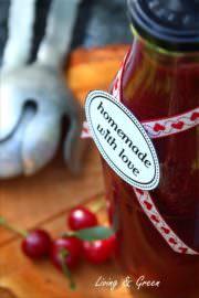 Home Made Sauerkirschen Ketchup