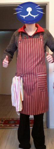 (Männer) Küchenschürze advanced