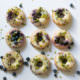 Blueberry Donuts aus dem Backofen [Mohntage]