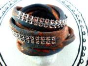DIY-Wickelarmband aus Textilgarn