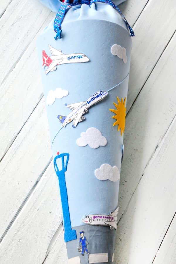 Schultüte - Flughafen & Flugzeuge