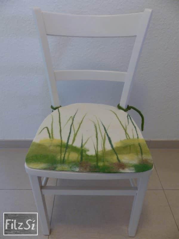 Der Schilfstuhl - eine Urlaubserinnerung