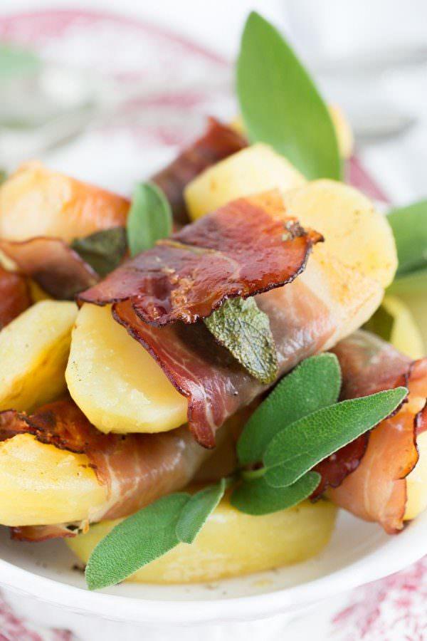 Kartoffel-Saltimbocca