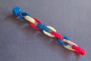 Häkelarmband aus Schlaufen