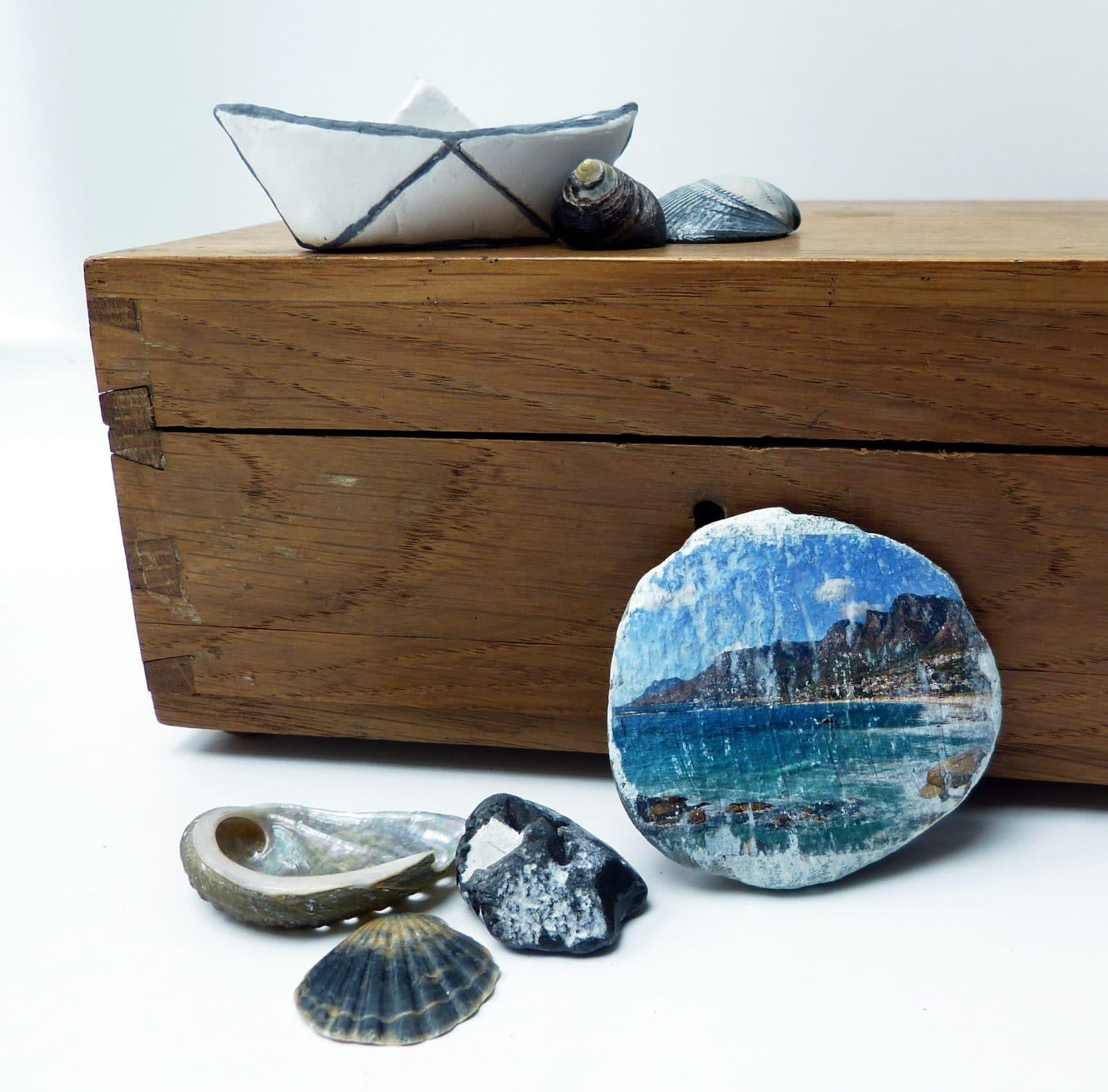 Urlaubsfotos Auf Stein übertragen Bildtransfer Mal Anders
