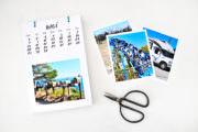 Fotokalender mit handgeletterten Seiten & Freebies dazu