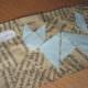 Lesezeichen für die Urlaubslektüre - Origami-Tiere