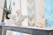 {DIY: } Paletten-Regal in sommerlichen Farben
