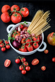 One Pot Pasta all'amatriciana