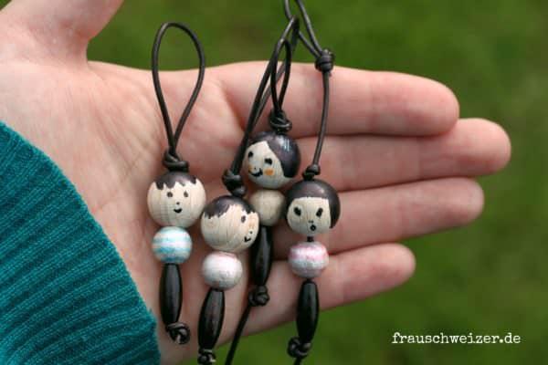 Schlüsselanhänger Puppe
