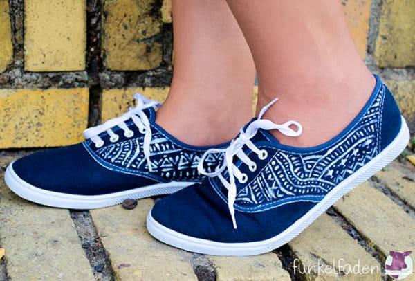 Upcycling Schuhe Farben Und Bemalen Handmade Kultur