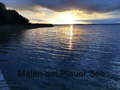 Malkurs am Plauer See ( Mecklenburg-Vorpommern)
