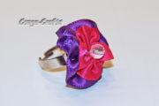 Bandblüte als Giveaway/Ring/Spange/Clip ...