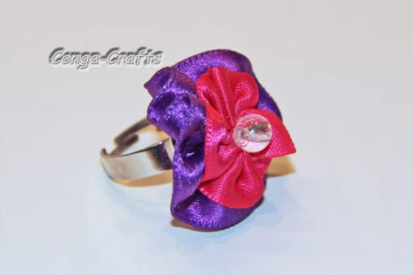 Bandblüte als Giveaway/Ring/Spange/Clip ...