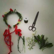 Blumenkranz - einfach selbst gemacht