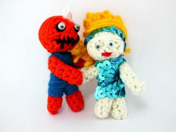 Voodoo-Judo-Puppe! - HANDMADE Kultur
