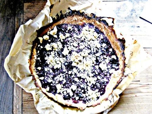 Beerenkuchen mit Hefeteig!