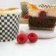 New York Cheesecake Cupcakes mit Brownieboden & Himbeeren | Mohntage