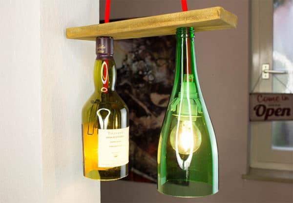 Flaschenlicht mal Zwei