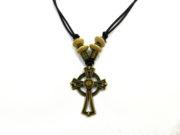 Halskette mit Keltenkreuz/Hochkreuz/Irisches Kreuz Unikat # 103