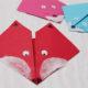 Origami Fuchs basteln