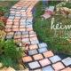 Gartenweg anlegen - ganz einfach selbstgemacht