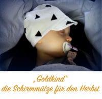 """Schirmmütze """"Goldkind"""""""