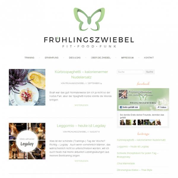 Frühlingszwiebel - Fit - Food - Funk