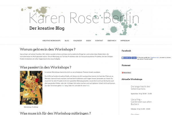 Karen Rose Berlin – Der Kreative Blog