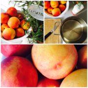 Heute auf dem (beinahe) Marmeladenblog: Nektarinen-Rosmarin-Marmelade