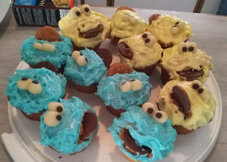 Krümelmonster Cupcakes Handmade Kultur