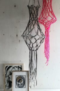 DIY – Macramee Hanger / Kronleuchter aus Wolle