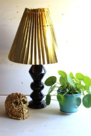 #DIY – Lampenschirm mit Akkordeonfaltung