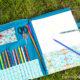 Nähanleitung - Malmappe für Kinder