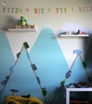 Kinderzimmer DIY – Straßen & Autos an der Wand - freebie