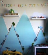 Kinderzimmer deko selber machen jungen  Kinderzimmer - 35 DIY Anleitungen und Ideen