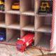 Parkhaus für Spielzeugautos