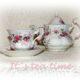 DIY : Weihnachtliche Haube für Teekanne, nähen einfach