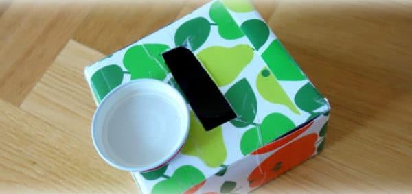 Baby Spielzeug Deckelbox - DIY