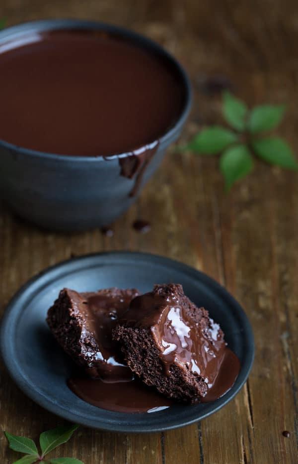 Selbstgemachte Schokoladensoße!