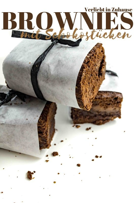 Einfaches Rezept: für Brownies (und Mischung für Kuchen im Glas)