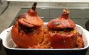 Orientalisch gefüllte Kürbisse