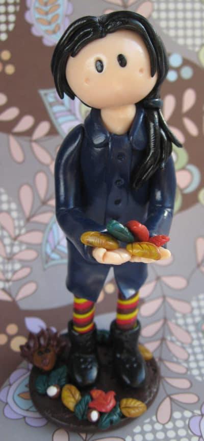 Autumn Fimo-Figur