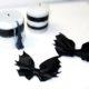 Bat Bows aus Lederresten
