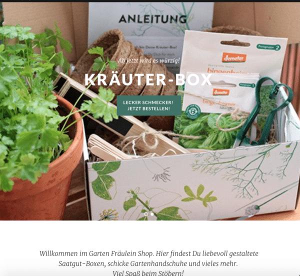 Kreativblog Garten Fräulein Shop Garten Fraeulein Handmade Kultur