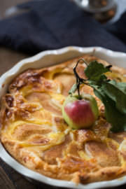 Birnen-Pudding-Kuchen!