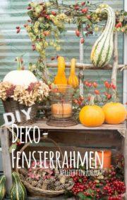 DiY: Deko-Fensterrahmen aus gesammelten Ästen selber machen