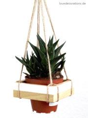 DIY Hänge-Pflanzenhalter
