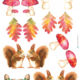 Herbst Aquarell Karten